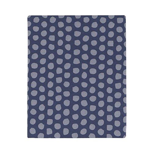 Essix - Drap Plat Sherwood Coton Bleu 240 x 300 cm