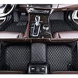 RVTYR For Volvo Todos los Modelos S60 S80 C30 XC60 XC90 S90 S40 V40 V90 V70 V60 XC-Classi, alfombras de Piel de Encargo del Coche Auto del Coche Accesorios (Color : Black)