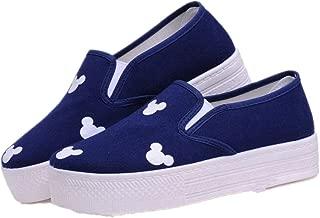 lcky Canvas Shoes Women's Casual Low-top Sports Shoes Fashion Platform Shoes