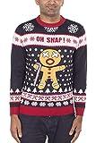 Lebkuchenmann Weihnachten Pullover Strickpullover