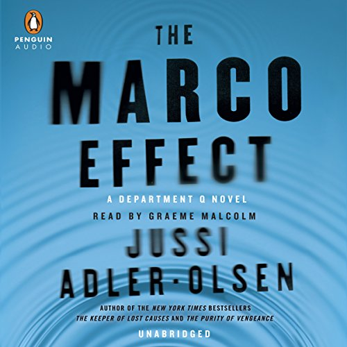 The Marco Effect     Department Q, Book 5              Auteur(s):                                                                                                                                 Jussi Adler-Olsen                               Narrateur(s):                                                                                                                                 Graeme Malcolm                      Durée: 15 h et 19 min     7 évaluations     Au global 4,6