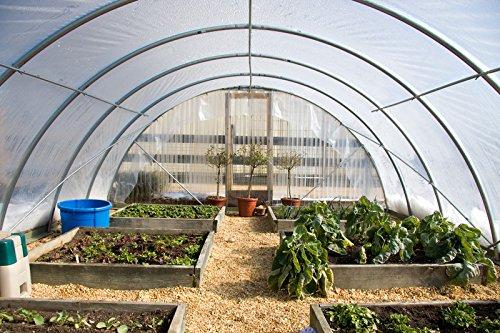 Farm Plastic Supply 4 Year Clear Greenhouse Film 6 mil Thickness (20'W x 28'L)