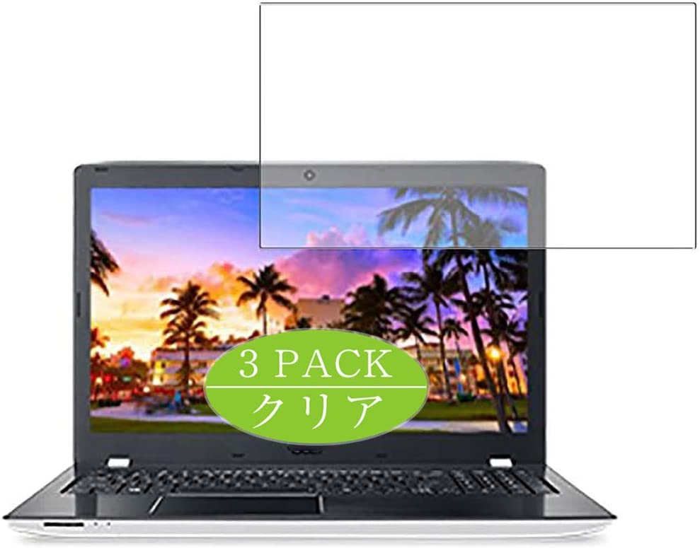 [3 Pack] Synvy Screen Protector, Compatible with Acer Aspire E15 E5-576-N78GW 2018 15.6