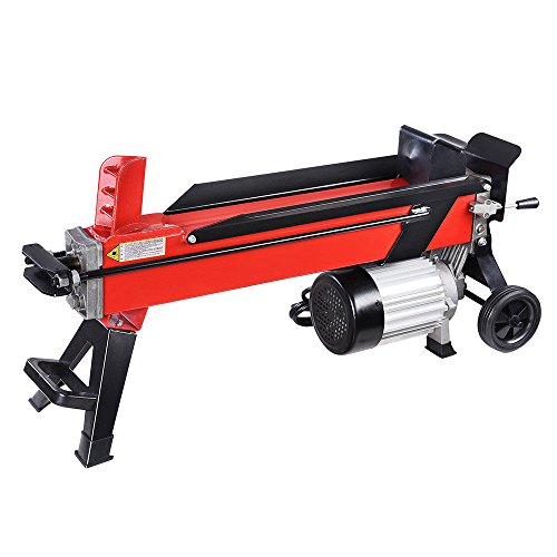 Read About Max-One Shop Powerful Firewood Wood Kindling Cutter Electrical Hydraulic Log Splitter 7 T...