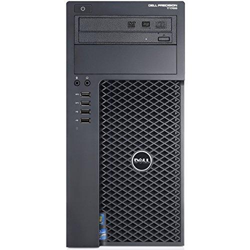 Dell Precision T1700Intel Xeon E3–1220X43.1GHz 16GB 1TB DVD W7Pro (schwarz)