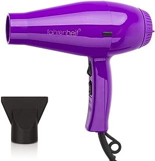 Fahrenheit Hotshot 1875 Watts High Efficiency Ultra Light Hair Dryer (Purple)