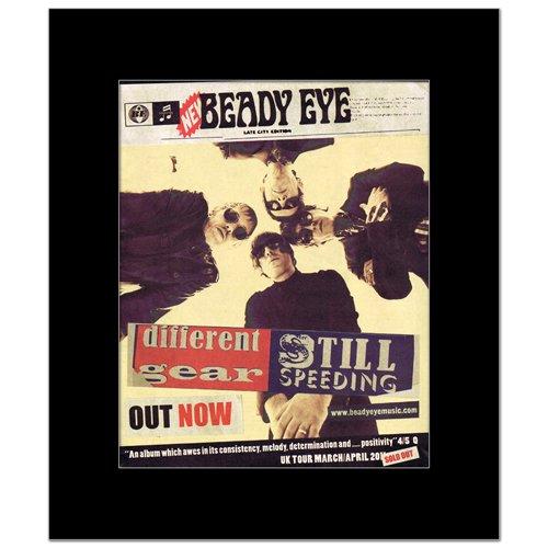 Music Ad World Mini-Poster, Motiv Beady Eye - Different Gear - 31,8 x 28 cm