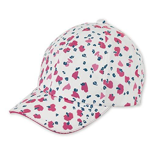 Sterntaler Baseball-Cap für Mädchen mit Größenregulierung und Blumen-Motiven, Alter: 12-18 Monate, Größe: 49, Weiß
