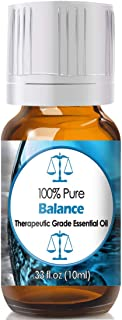 Balance Blend Essential Oil for Diffuser & Reed Diffusers (100% Pure Essential Oil) 10ml