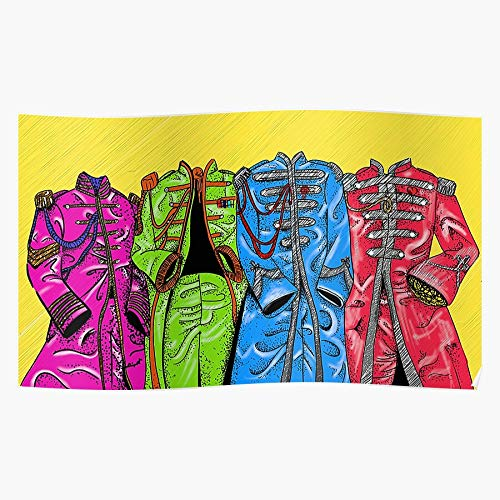 SGT Costume The Pepper Art Beatles Sargent Jackets I Fsgodonelco - The Most Impressive and Stylish Indoor Decoration Poster Available Trending Now