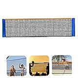 Red de bádminton, Tiendas de Voleibol Plegable de bádminton Neto para Entrenamiento de Partidos 4m
