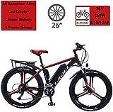 BWJL Bicicletas eléctricas para los Adultos, en Bicicletas de aleación de magnesio...