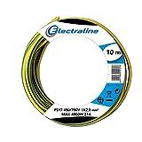 Electraline 13171 - Cable unipolar FS17, Sección 1 x 2,5 mm², amarillo/verde, 10 m