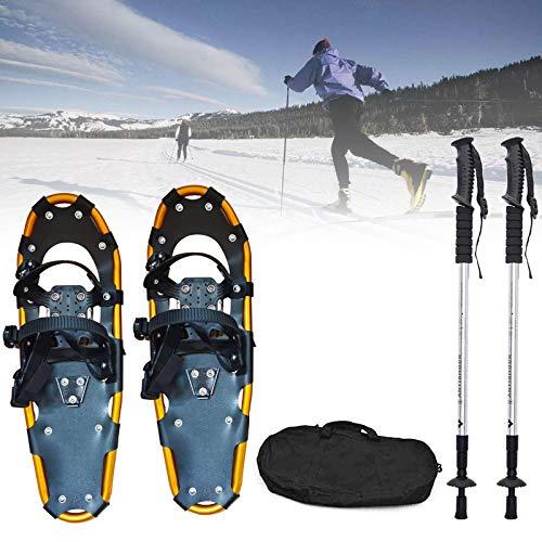 25 pollici con le ciaspole, scarpe da neve unisex, racchette da neve leggera in lega di alluminio in...