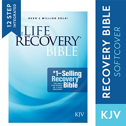 Tyndale KJV Life Recovery Bible (Softcover): Addiction Bible Tied to 12 Steps of Recovery for Help with Drugs, Alcohol a