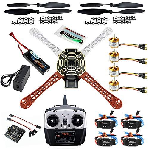 QWinOut DIY 2.4G 8CH KK V2.3 F450 Frame RC Quadcopter 4-Axle...
