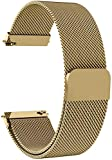 ProLook Strap Compatible with Fire-Boltt Smart Watch BSW001 All watch bands made of Magnetic Loop Metal Chain Strap skin-friendly and Swim-Ready water resistance anti-allergic and no Colour fading. Easy to install with quick release spring bars Pin, ...