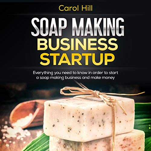 Soap Making Business Startup cover art