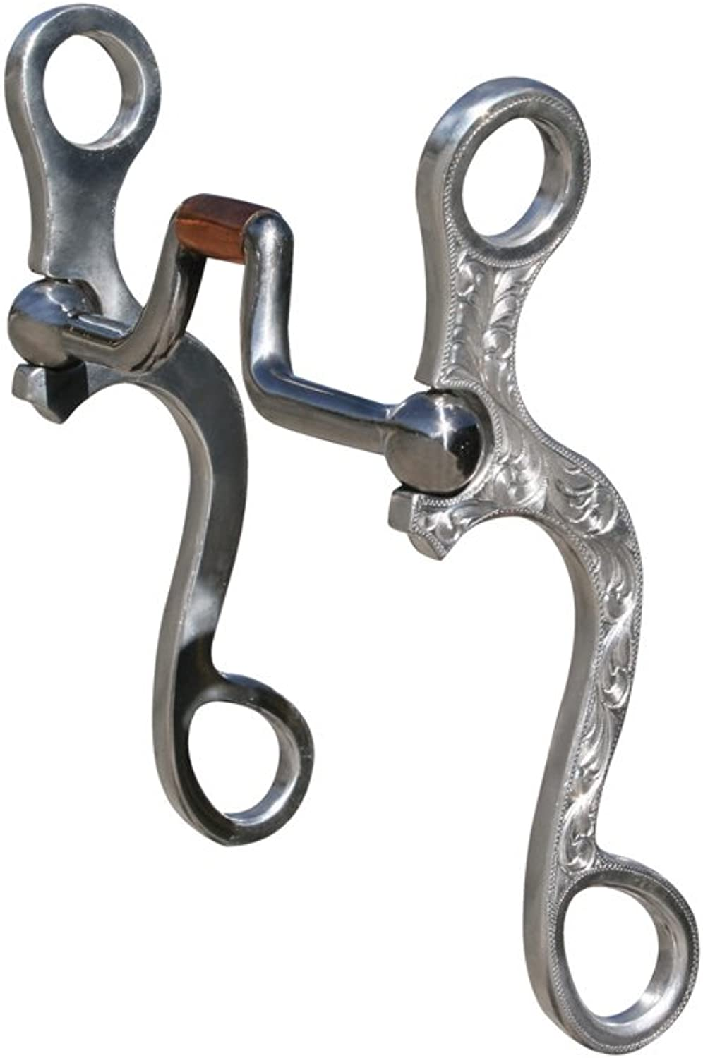 Professional's Choice Correctional Snaffle Stainless Rods Curve Decorate