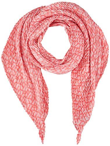Tommy Hilfiger Plisse Monogram Scarf Bufanda, Rosa (Pale Pink Tjp), Talla Única (talla del fabricante: OS) para Mujer