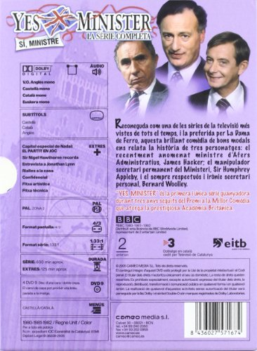 Yes, Minister - La Serie Completa (1980)(Import)
