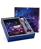 Starry Constellation Lock Diary Set Gift Box...