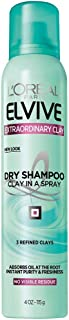 L'Oréal Paris Elvive Extraordinary Clay Dry Shampoo, 4 oz. (Packaging May Vary)