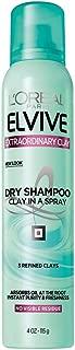L'Oréal Paris Elvive Extraordinary Clay Dry Shampoo, 4 oz. (Packaging May Vary)
