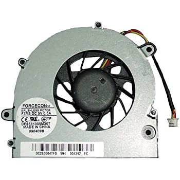 DBTLAP Laptop Fan Compatible for Toshiba Satellite L875D-S7210 L875D-S7232 Fan 4pin