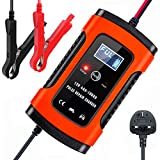 Aibeau Car Battery Charger, Smart Battery Charger & Maintainer, Automatic 6A 12V Fully