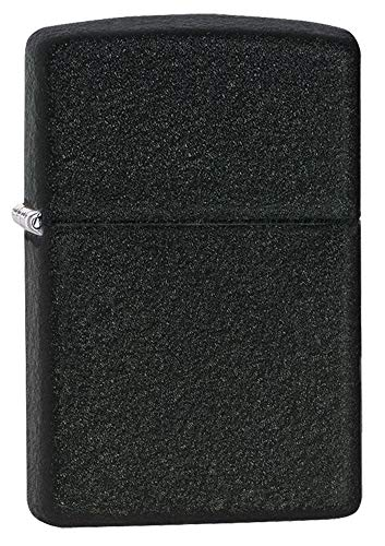 Zippo Black Crackle Pocket Lighter