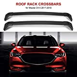 ALAVENTE Roof Rack Crossbars for Mazda CX-5 2017 2018 2019 Luggage Roof Rack Rail Cross Bar Mazda CX-5 CX5 2017-2019 (Factory Side Rails Needed)