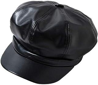 Dazosue Women Newsboy Cap Unisex Classic Painter Cabbie Beret Hat