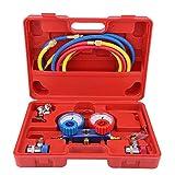 Juego de manómetros, kit de prueba y diagnóstico de sistema de aire acondicionado, R134A