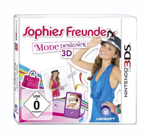 Sophies Freunde: Mode Designer 3D - [Nintendo 3DS]