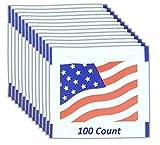 Fresh Nap Moist Towelettes (6.5 x 4.75) American Flag Design | 100 Count