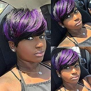 Best purple pixie wig Reviews
