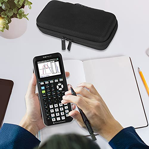ProCase Hard EVA Case for Texas Instruments Ti-84 Plus CE, Durable Travel Storage Carrying Box Protective Bag for Ti-84 Ti-83 Ti-85 Ti-89 Ti-82 Plus/C CE Graphing Calculator and More –Black Photo #6