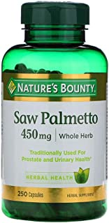 Natures Bounty Saw Palmetto 450 mg - 250 Capsules