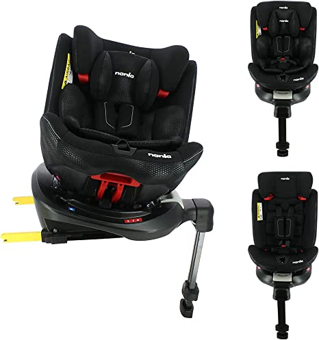 Ranger 360° swivelling isofix car seat Group 0/1/2/3 (0-36kg) - Evolving seat with Side Protection - Nania: image