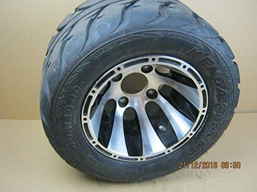 Triton Hinterrad Alu mit Reifen 225/40-10 für 400, 450 Supermoto