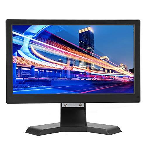 Monitor IPS de 13,3 Pulgadas 1920 x 1080, Pantalla HD 16: 9 Compatible con Entrada HDMI/VGA Conexión a PS4 Interfaz de Vista Completa de 178 Grados HDMI/VGA/USB/DC/AV/BNC para portátil PS4(EU)