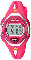 (タイメックス) Timex ミディアムサイズ アイアンマン スリーク 50 シリコンストラップウォッチ One Size ピンク