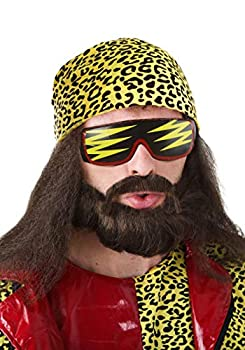 Fun Costumes Randy Savage Wig Kit - ST Yellow