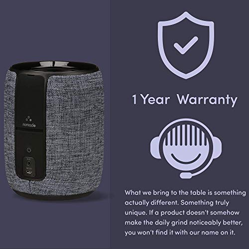 Echo Dot (2nd Generation) Speaker Dock | Portable, Premium 360 Sound, 10 Hours of Playtime, Rechargeable Battery | Amazon Alexa Accessories | Smart Home Audio | Charcoal (Echo Dot Not Included)