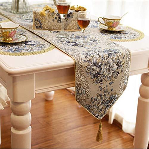 Branfan Fashion tafellopers Europese tafelkleed moderne minimalistische landelijke Chinese salontafel doek doek 28 * 180CM_1