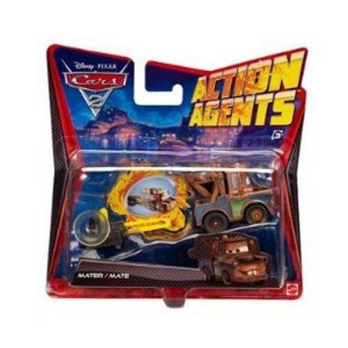 Cars 2 - V3020 - Véhicule Miniature - Cars Véhicule Action Agent - Martin