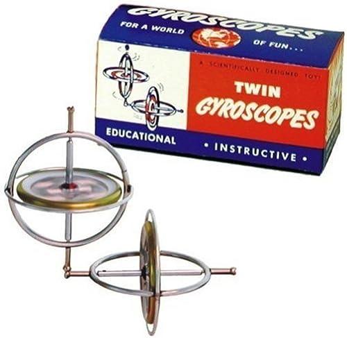 excelentes precios Originial TEDCO Gyroscope Gyroscope Gyroscope Twin Pak by Tedco  tienda de pescado para la venta