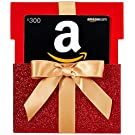 Amazon.com Gift Card in a Red Gift Box Reveal
