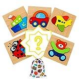 Darsen Juguetes Bebes Puzzle de Madera para Niños y Niños 1 Año 2 3 4 5 Años...